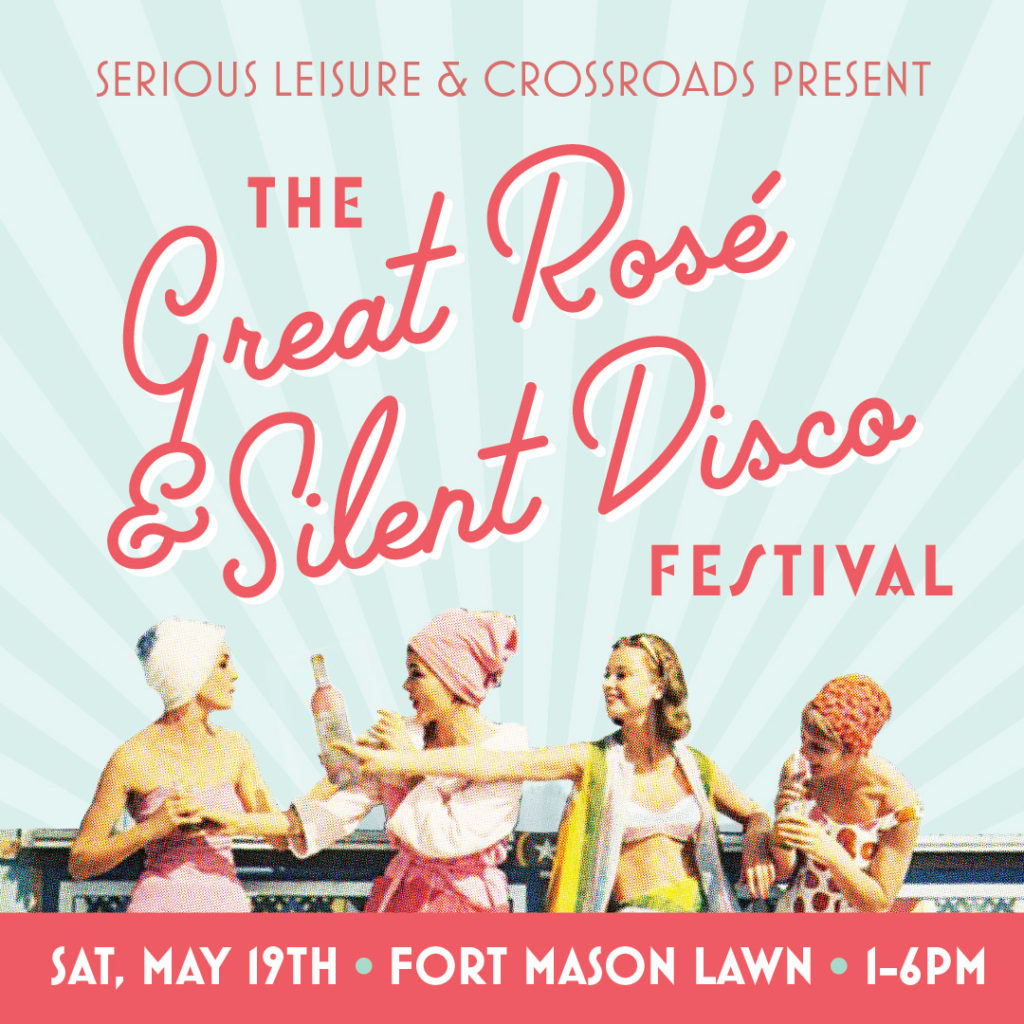 The Great Rosé & Silent Disco Festival