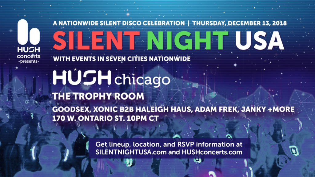 Silent Night USA @ Trophy Room